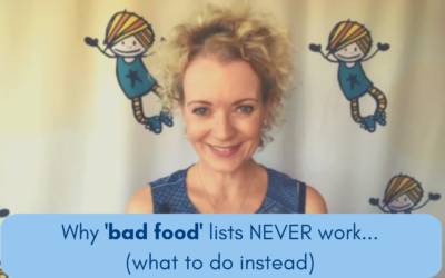 Why 'foods to avoid' lists NEVER work (here's what does)