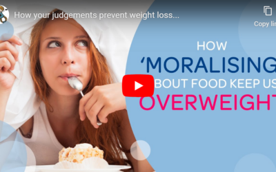 How 'moralising around food' prevents weight loss…