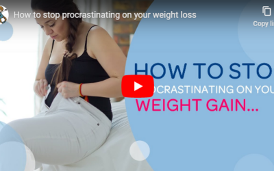 How to stop procrastinating on your weight loss