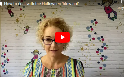 How to deal with the Halloween 'blow out'
